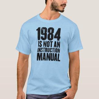 1984 no es un manual de la instrucción playera