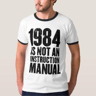 1984 no es una camiseta del manual de la playera