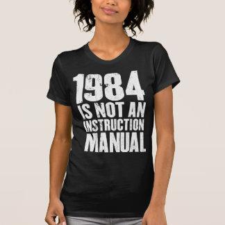 1984 no es una camiseta del manual de la remera