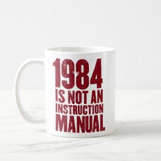 1984 no es una taza del manual de la instrucción