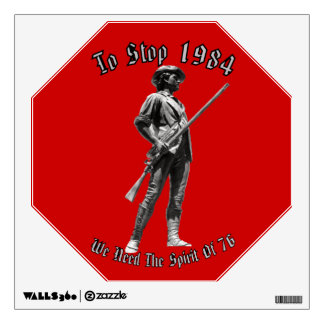 1984 or 1776? wall decal