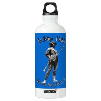 1984 or 1776? water bottle