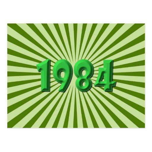 1984 POST CARD
