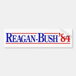 1984 Reagan Bush Bumper Sticker