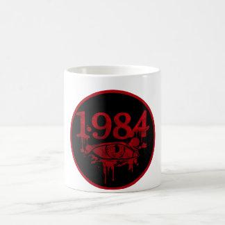 1984 TAZA BÁSICA BLANCA