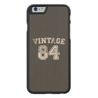 1984 Vintage Jersey Carved® Maple iPhone 6 Case