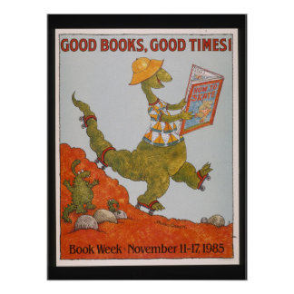 1985 Children's Book Week Poster
