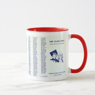 1985 CLASS ROLL - ORIGINAL DOCUMENT MUG