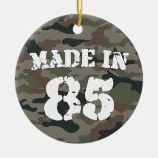 1985 Made In 85 Ceramic Ornament