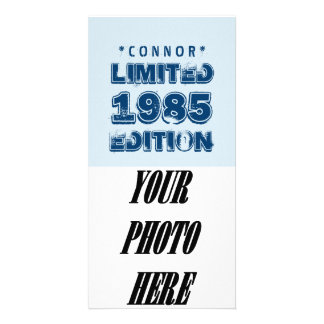1985 or Any Year Birthday Limited Edition 30th V5Z Photo Card