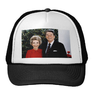 1985 Ronald and Nancy Reagan Trucker Hat