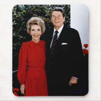 1985 Ronald and Nancy Reagan Mouse Pad