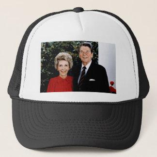 1985 Ronald and Nancy Reagan Trucker Hat