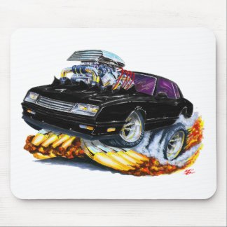 1986-88 Monte Carlo Black Car Mouse Pad