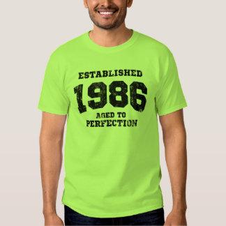 1986 establecidos envejecidos a la perfección playera