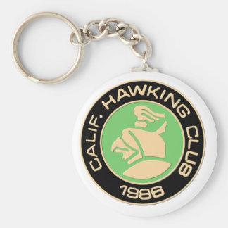 1986 Los Banos Basic Round Button Keychain