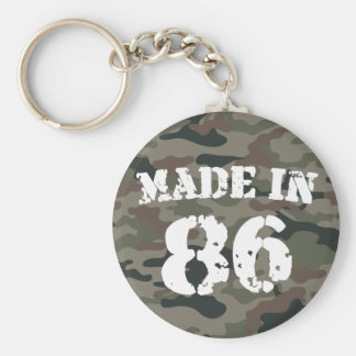 1986 Made In 86 Keychain