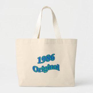 1986 Original Blue Green Tote Bags