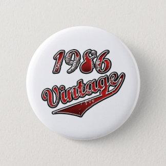 1986 Vintage Button