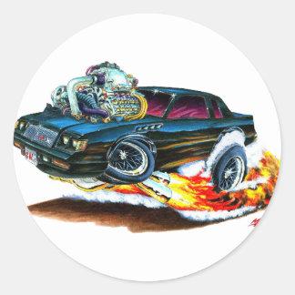 1987 Buick GNX Classic Round Sticker
