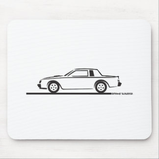 1987 Buick Grand National Mouse Pad