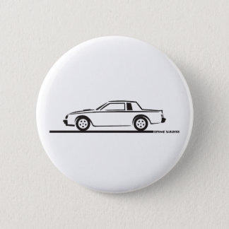 1987 Buick Grand National Pinback Button