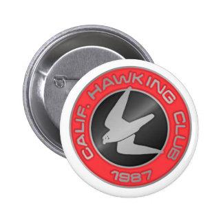 1987 Los Banos Pinback Button