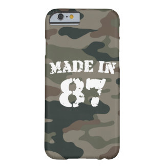 1987 Made In 87 iPhone 6/6s Barely There iPhone 6 Case