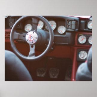 1987 Mustang GT Cobra Poster