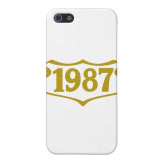1987 shield png iPhone 5 carcasa