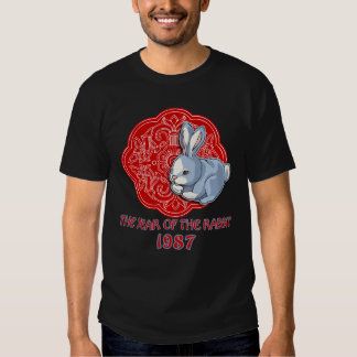 1987 The Year of the Rabbit Gifts Tshirt