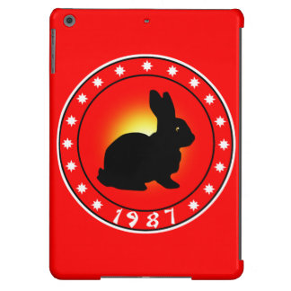 1987 Year of the Rabbit iPad Air Cover