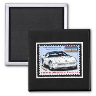 1988 35th Anniversary Corvette Magnet
