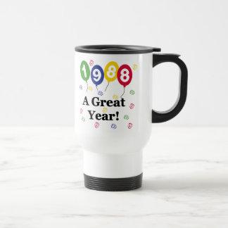 1988 A Great Year Birthday Coffee Mugs