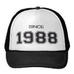 1988 birthday gift idea trucker hat