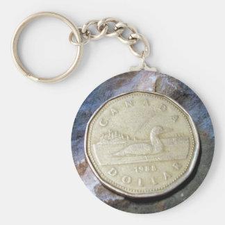 1988 Canadian Loonie Key Chain