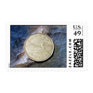 1988 Canadian Loonie Stamp