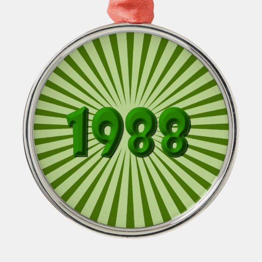 1988 METAL ORNAMENT