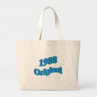 1988 Original Blue Green Canvas Bag