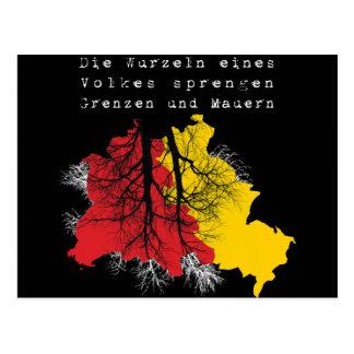 1989-2009: 20. Jahre Mauerfall Postcard