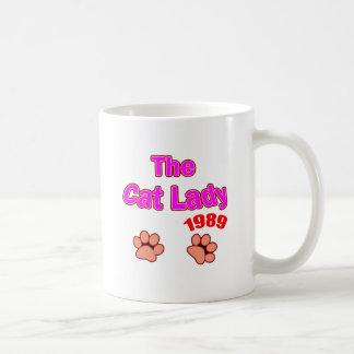 1989 Cat Lady Coffee Mug
