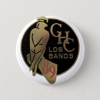 1989 Los Banos Button