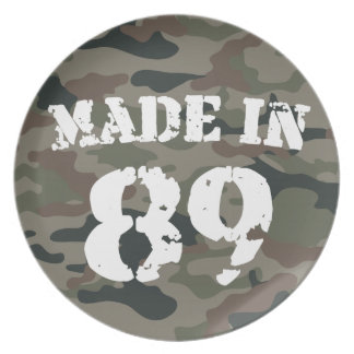 1989 Made In 89 Party Plates