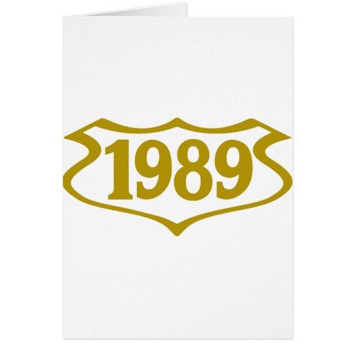 1989 shield.png tarjeta de felicitación