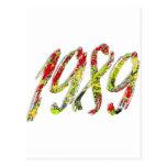 1989 TARJETA POSTAL