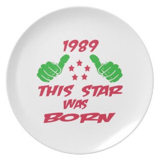 1989 this star was born plates