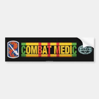 198th LIB Vietnam COMBAT MEDIC Sticker Car Bumper Sticker