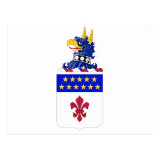 198th Signal Battalion COA Postcard