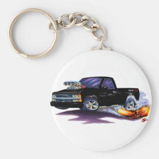 1990-93 Silverado SS454 Truck Basic Round Button Keychain