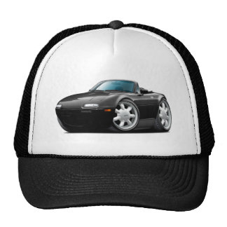 1990-98 Miata Black Car Trucker Hat
